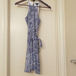 Blue and White Ann Taylor Summer Dress